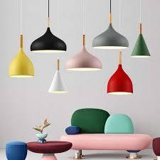 <b>Modern</b> Pendant lamps <b>minimalist</b> lighting <b>Nordic style</b> bar table ...