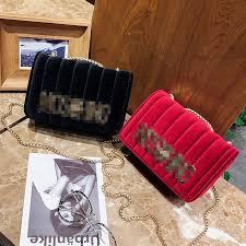 new <b>fashion letter</b> chain <b>square</b> bag wild temperament shoulder bag ...