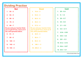 Dividing Decimals Worksheet by Stacy3010 - Teaching Resources - TESPreview resource