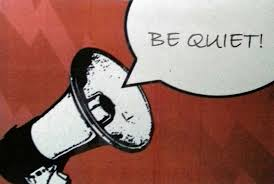 Image result for be quiet