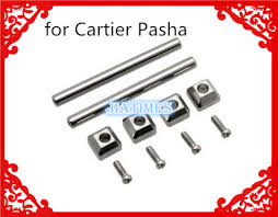 <b>2pcs Stainless Steel</b> Screw Pins Tubes For Pasha Band Sreap ...
