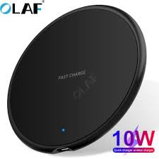 10W Fast Qi <b>Wireless Charger For</b> Smartphone – Alpha Infinite