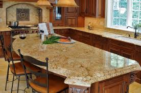 Kitchen Islands With Granite Countertops Kitchen Island Countertop Designs Best Kitchen Island 2017
