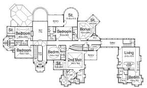 blueprint quickview front  luxury home s plans plano casa lujosa y    home plan second floor plan