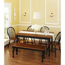 Lane Dining Room Sets Varnished Oak Wood Dining Bench Chic Benches Dining Table Oak