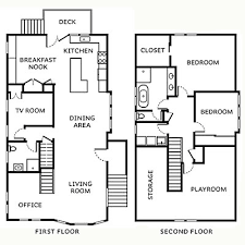 Remodeled Craftsman floor plan   Craftsman Style House Remodel    Craftsman remodel floor plans