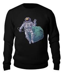 """Свитшот унисекс хлопковый """"<b>Космонавт</b>"""" #2671344 от ..."""