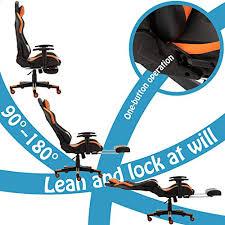Gaming Chair <b>Racing Office</b> Chair Computer <b>Desk</b> Chair Executive ...
