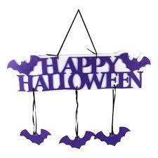 <b>Halloween</b> Hanging Tag Cartoon <b>Bat Pattern</b> Happy <b>Halloween Bat</b> ...