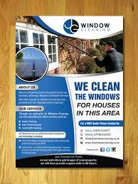 modern elegant flyer design for jg window cleaning by innovative flyer design by innovative earth for jg window cleaning flyer design design 10628332