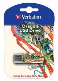 <b>Флеш диск 16Gb</b> Store n Go <b>Mini</b> Tattoo Koi 49886 <b>Verbatim</b>