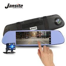 <b>Jansite</b> 7 Inch HD Touch Screen <b>Car DVR Dual</b> Lens Camera ...