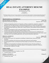 real estate attorney resume example   resume samples across all    real estate attorney resume example