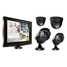 <b>Комплект видеонаблюдения Ginzzu</b> HS-T804KB (8 экран, 4 ...