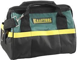 """<b>KRAFTOOL</b> 12"""", 20 карманов, <b>сумка для инструмента</b> 38712-12"""