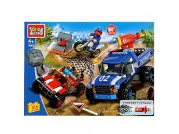 Кубики <b>EFKO строительные</b> для грузовика, 18 штук ...