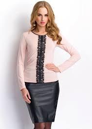 <b>Трикотажные блузки</b> (72 фото): с чем носить, нарядные фасоны ...