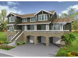House Plans With Garage Under   Smalltowndjs comHigh Quality House Plans With Garage Under   Messina Craftsman Home Plan d House