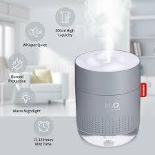 Portable <b>Mini Humidifier</b>, 500ml Small Cool Mist <b>Humidifier</b> with ...
