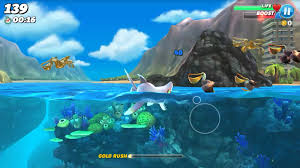 hungry shark world tips tricks and cheats android central catch pelicans and other birds up at the surface
