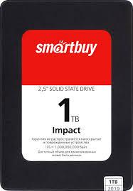 Твердотельный накопитель 1Tb SSD <b>SmartBuy Impact</b> (SBSSD ...
