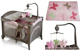 <b>Portable folding</b> game bed multifunctional <b>crib</b> travel bed <b>shaker</b> ...