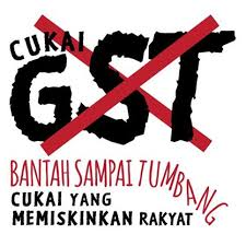 Image result for Memiskinkan Orang Melayu kerana GST