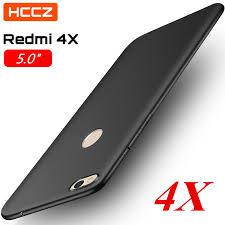 HCCZ Redmi 4X Matte <b>Pure Color Soft Silicone</b> Case for Xiaomi ...