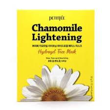 <b>Гидрогелевая маска</b> для лица Petitfee Chamomile lightening hidrogel