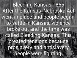 Image result for bleeding kansas images