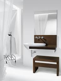 design bathroom vanity stools chairs: amazing design ideas using rectangular mirrors and oval white sinks al