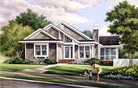 House Plan at FamilyHomePlans comContemporary Craftsman House Plan Elevation