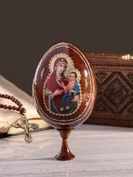 """Яйцо подарочное """"Богоматерь Иверская"""", на подставке KUDU ..."""