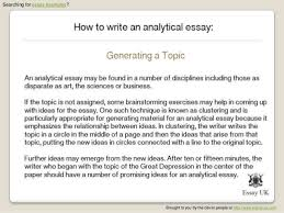 critical analytical essay format   an analytical essay sample    how to write an analytical essay essay examples jpg cb