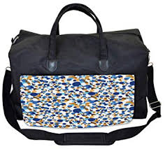 Ambesonne Abstract Gym Bag, Bubble Retro Festive ... - Amazon.com