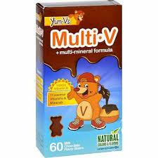 Yum V'S <b>Multi</b>-<b>V</b> Plus <b>Multi</b>-<b>Mineral</b> Formula Milk Chocolate - 60 ...