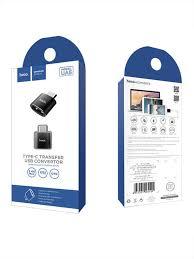 Купить Адаптер <b>HOCO UA5</b> USB – <b>Type</b>-<b>C</b> в Маунтин-Вью, низкая ...