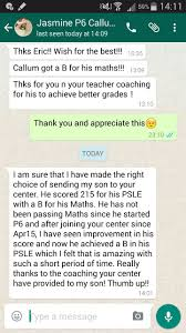 testimonials from parents students learning out of the box i am sure i have made the right choice of sending my son to your centre he has not been passing maths since he started p6 and after joining your centre