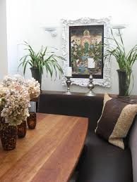 asian style flower vase with white hydrangeas asian dining room sets 1