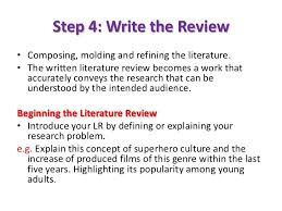 How to write literature review in research report  Academic     inventory management literature review jpg