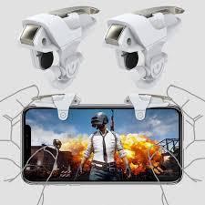 1Pair Mobile Phone Gaming Trigger <b>Controller</b> Shooter Fire <b>Button</b> ...