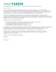 sales representative cover letter sample my perfect cover letter perfect cover letter examples