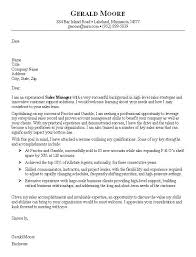 sales job cover letter examples sales cover letters samples