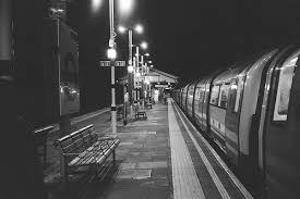 Image result for lonely train