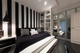 bedroom large cozy modern bed silver wall light black furniture ideas shite and roof top beautiful black white style modern bedroom silver