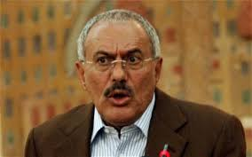 """Any dissent within the military institution will negatively affect the whole nation,"" President Ali Abdullah Saleh said in a nationally televised warning ... - AliAbdullahSaleh_1854227c"
