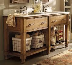 cream bathroom vanity rustic vanities