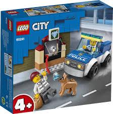 Купить <b>Конструктор LEGO City Полицейский</b> отряд с собакой в ...