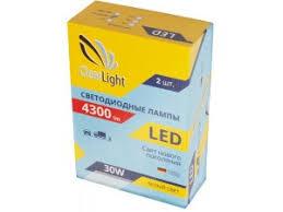 <b>Лампа автомобильная</b> LED светодиодная <b>Clearlight H4</b> 4300 lm ...