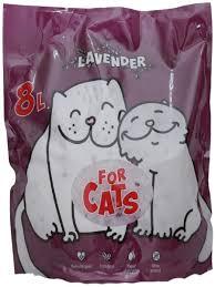 <b>Силикагелевый наполнитель For Cats</b> с ароматом лаванды, 8 л